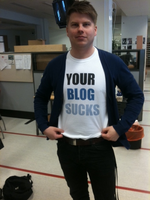 Your blog sucks