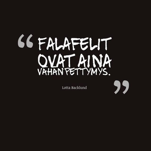 quote falafel